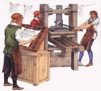 The Development Of Printing Press By Sinead Reed Digital